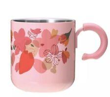 Starbucks  SAKURA  Cherry Blossom limited JAPAN Stainless Mug Cup 355ml F/S