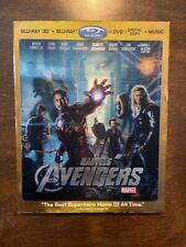 The Avengers 3D (Blu-ray/DVD, 2012, 4-Disc Set, No Digital Copy)