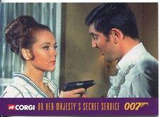 James Bond Corgi Cars Exclusive Trading Card #21 On Her Majestys Secret Service