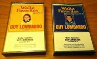 Waltz Favorites by Guy Lombardo Cassette Set of 2 Tapes Suffolk 1986
