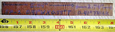 """Dupont Vespel Polyimide Sp-1 Plate 7-3/4"""" Long X 59/64"""" Wide X 13/32-35/64 Thick"""