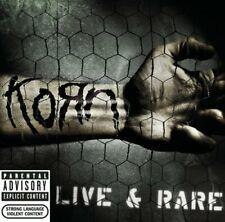 Korn - Live And Rare (NEW CD)
