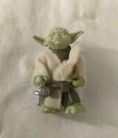Vintage 1980 Yoda w/ Robe + Belt Cloak Star Wars ESB Action Figure LFL Hong Kong