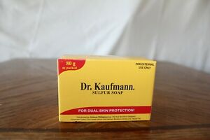 LOT OF 15 DR. KAUFMANN MEDICATED SULFUR SOAP  80G (New Packaging)