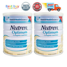 Nestle Nutren Optimum Complete Nutrition Milk 900g X 2 tins [FAST SHIPPING]