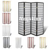High Quality Oriental Room Divider Hardwood Shoji Screen! Choose 3 & 4 Panels