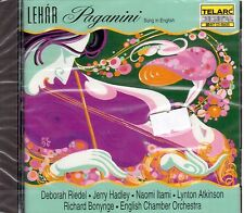 Lehar: Paganini (Cantata In Inglese) / Bonynge, Riedel, Hadley, Itami - CD