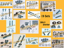 Normteile pass f Simson SR4-3 Sperber 250 Schrauben Muttern Schraubensatz 19 Set