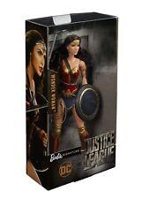 Justice League Movie Wonder Woman Barbie Doll Gal Gadot XMAS New