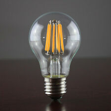 Retro E27 12W Edison Filament COB LED Bulb A60 Lamp Warm White Drawing Light BE
