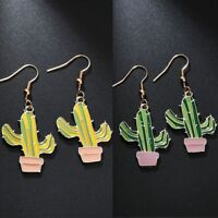Cactus 1 Pair Gift Women Earring Drop Earrings Fashion Jewelry
