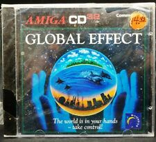 NEW CD32 GLOBAL EFFECT Commodore AMIGA Vintage RARE Strategy Game
