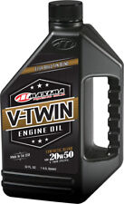 MAXIMA V-TWIN SYNTHETIC BLEND ENGINE OIL 20W-50 32OZ 30-14901