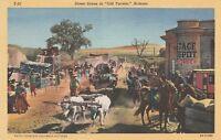"""(V)  Tucson, AZ - Street Scene in """"Old Tucson"""""""