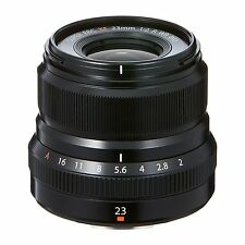 FUJIFILM Exchange Lens 23mm F2 R WR B Black XF23MMF2 from Japan New in Box