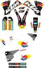 kit pegatinas ktm exc-sx 125-525 2003, graphics, adhesivos