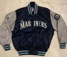Vintage Starter Authentic Diamond CollectionSeattle Mariners Satin Jacket Large