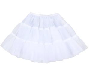 """Flower Girl Child Short Hoopless Petticoat/Christening Underskirt/Dance Tutu,13"""""""