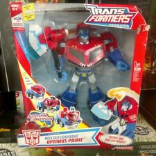 Transformers Animated Roll Out Command Giant Leader Optimus Prime Bad Box MIB G1