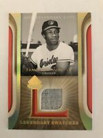 Frank Robinson 2004 SP Legendary Cuts Game Used Jersey