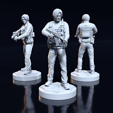 35 mm Leon S. Kennedy fanart Resident Evil Miniature for Zombicide DnD