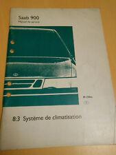 SAAB 900 1994 manuel de service système de climatisation