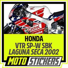 Kit adesivi Honda VTR SP-W 2002 - SBK - Laguna Seca / Colin Edwards