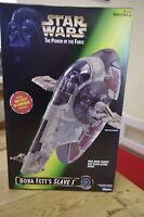 Star Wars POTF Boba Fett Slave 1 Boxed Sealed