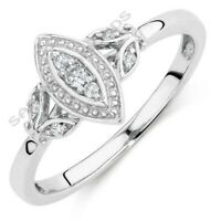 .75 Carat Diamond Engagement Ring Wedding With 14K Solid Real White Gold Over