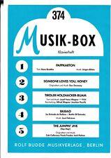 Musik - Box, Klavierheft, Bd.374.