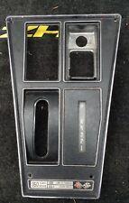 1972 - 1974 350  Chevrolet Corvette C3 console bezel shift plate w/AC