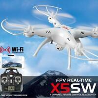 White Syma X5SW Headless 4CH Wifi FPV RC Quadcopter Camera RTF Helicopter Drone