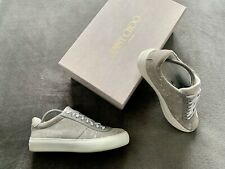 Genuine Authentic Jimmy Choo Portman Spotted Suede  Trainers Size UK 8 - EU 42