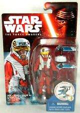 """X-WING PILOT ASTY Star Wars The Force Awakens 3.75"""" Action Figure WAVE 2"""