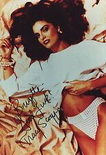 Tracy Scoggins Originalautogramm auf Großfoto - Denver - Babylon 5