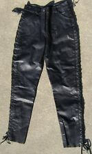 Harley Davidson Leather Pants Size 4 LQQK!!!