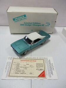 Danbury Mint Limited Edition 1969 Dodge Charger SE