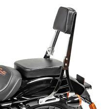 Sissy Bar craftride h1 para Harley Davidson Sportster 883 Custom 04-10 Crom.