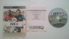 JUEGO FIFA 12 2012 SONY PLAYSTATION 3 PS3 CASTELLANO