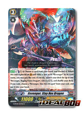Cardfight Vanguard  x 4 Revenger, Slay Hex Dragon - G-BT09/027EN - R Mint