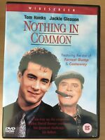 Tom Hanks Jackie Gleason NOTHING IN COMMON ~ 1986 Father & Son Comedy   UK DVD