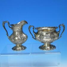 Reed & Barton Sterling Silver - Francis I - Eagle/R/Lion - Creamer, Sugar Bowl