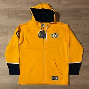 Nashville Predators Fanatics NHL Hockey Hoodie L NWT
