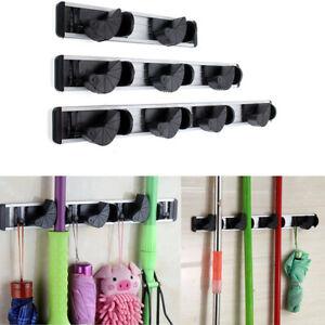 Gerätehalter Gartengerätehalter Besenhalter Halterung Aufhängehaken Geräteleiste