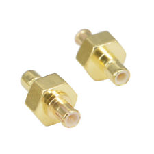 SMB Male to MCX Male straight plug  RF connector adapter  - UK Seller