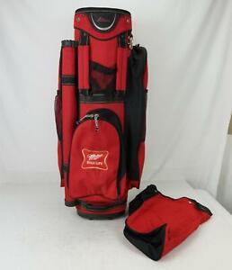 Datrek Miller High Life Men's 14 way divider Cart Golf Bag Red