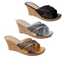 Markenlose Damenschuhe im Pantoletten-Stil mit hohem Absatz (5-8 cm)