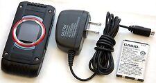Casio G'zOne C781 Black Ravine 2 Rugged Verizon Flip Cell Phone Water Resist -B-