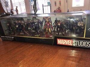Disney -Marvel Avengers Mega Set Figurine Playset - New