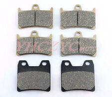 Front Rear Motorcycle Brake Pads Set for YAMAHA FZS100 Fazer 2001-2005 2002